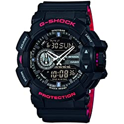 Casio G-Shock Reloj Analógico/Digital de Cuarzo para Hombre con Correa de Resina – GA-400HR-1AER