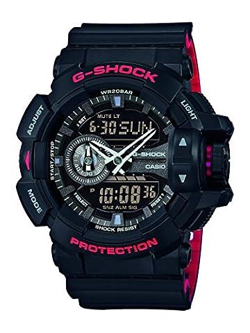 Casio G-Shock – Men's Analogue/Digital Watch with Resin Strap – GA-400HR-1AER