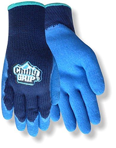 Blau-arbeits-handschuhe (Rot lenken Chilly Grip a311-l Acryl Full, Arbeit und allgemeine Zwecke Handschuhe, Medium, marineblau/blau, 1)