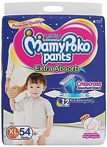 MamyPoko XL Size Pants (54 Count)