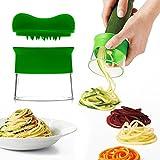 Uvistar Spiralschneider Hand für Gemüsespaghetti kartoffel