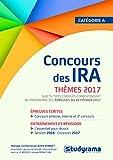 Concours des IRA : Thèmes 2017