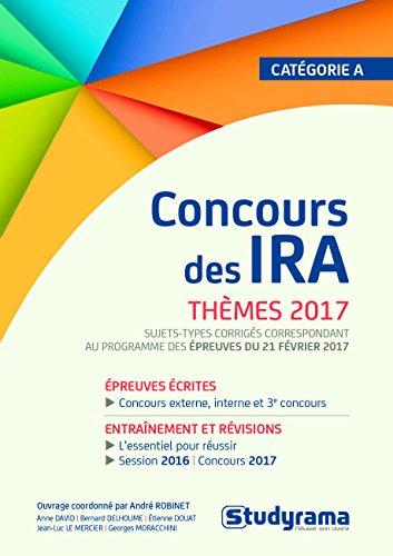Concours des IRA : Thmes 2017