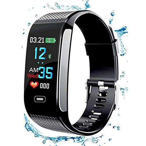 C-Xka Pulsera Inteligente, IP67 a Prueba de Agua, Distancia, rastreador, Pantalla, Color, Presión Arterial, frecuencia Cardíaca, Monitor de Sueño, para Android, iOS, teléfonos Inteligentes