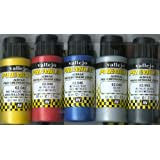 60ml Vallejo premium color Pintura Metalizada color (paquete de 6)