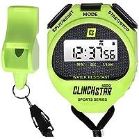 Cronometro Digitale Sport Timer e Fischietto Set Impermeabile per Nuoto Maratona Corsa per Allenatori e arbitri