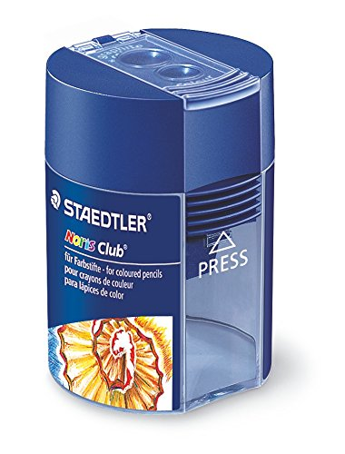 Staedtler 512 002 Noris Club Double-Hole Tub Sharpener