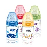 Die besten NUK Spielzeug Babys - NUK 10215121 First Choice Plus Trinflasche, Größe 1 Bewertungen