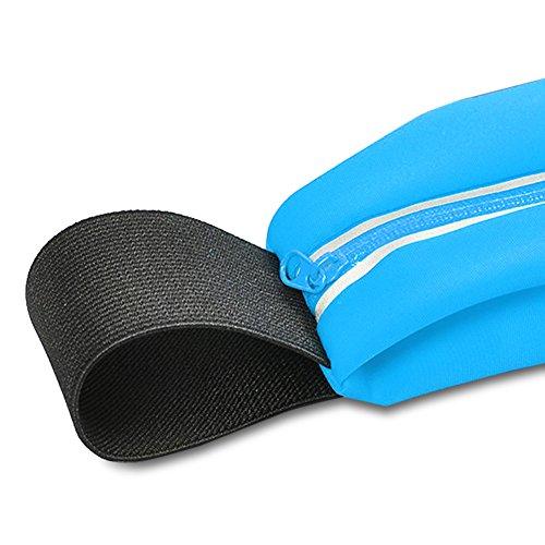 Apple iPhone Jogging Tasche Hülle Bauchtasche Fitnesstasche Sport Handy Case, Farben:Schwarz;Smartphone:Apple iPhone 7 Türkis