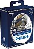 Best Headlights - Philips RacingVision +150% H4 Headlight Bulb 12342RVS2, Twin Review