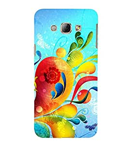 PrintVisa Floral Damask Pattern 3D Hard Polycarbonate Designer Back Case Cover for Samsung Galaxy A8 (2015) :: Samsung Galaxy A8 Duos :: Samsung Galaxy A8 A800F A800Y
