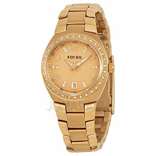 Fossil Fósiles Rose Dial Rose Dorado Damas Reloj AM4508