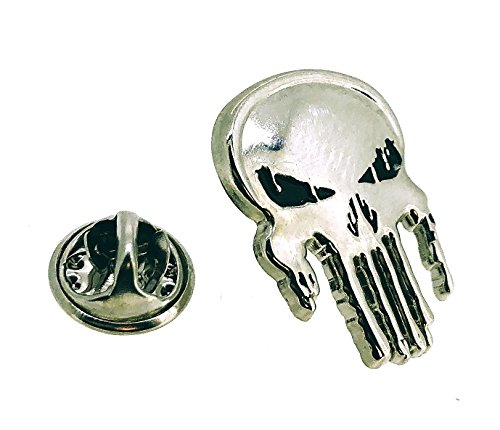 Gemelolandia Pin de Solapa Calavera Punisher