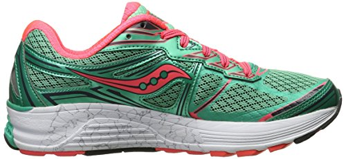 Saucony Guide 9 W, Chaussures de course femme Teal/Coral