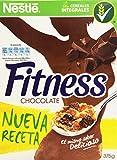Cereales NESTLÉ Fitness con chocolate con leche - Copos de trigo integral,...
