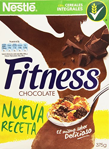 Cereales NESTLÉ Fitness con chocolate con leche - Copos de trig
