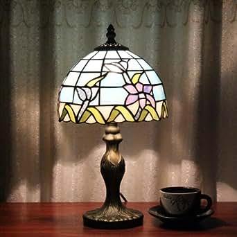 tiffany 8 zoll europaischen orchidee tischlampe. Black Bedroom Furniture Sets. Home Design Ideas