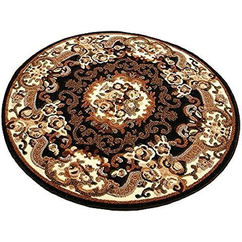 Orient Design tappeto Aubusson circa | Nero 101823, beige, 200