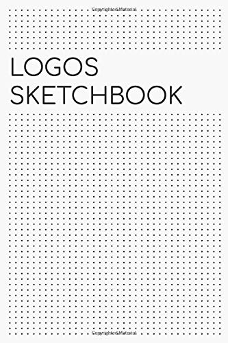 Logos Sketchbook For Graphic Designers :: LOGOS SKETCHBOOK Gift For Graphic Designer : DOODLING / MINDMAPPING, NOTEBOOK, SKETCHBOOK 150 PAGES 6x9 ... Cover Logos Sketchnote For Graphic Designers. -