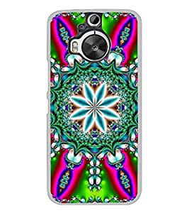Fuson Designer Back Case Cover for HTC One M9 Plus :: HTC One M9+ :: HTC One M9+ Supreme Camera (Crystals Green Pink Blue White)