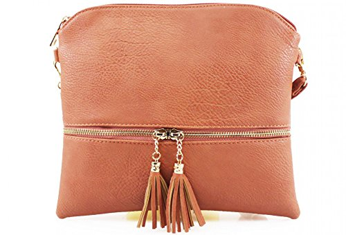 YourDezire, Borsa a tracolla Donna Dusty Pink