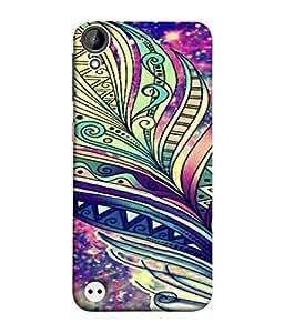 Fuson Designer Back Case Cover for HTC Desire 530 (Girl Womens Ladies Artist Student College)
