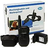 Collier de dressage électrique pour chien étanche et rechargeable Petainer