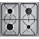 Fagor 2FPD-4GLSX/BUT hobs - Placa (Incorporado, Gas, Acero inoxidable, Giratorio, 1m, 220 - 240V)