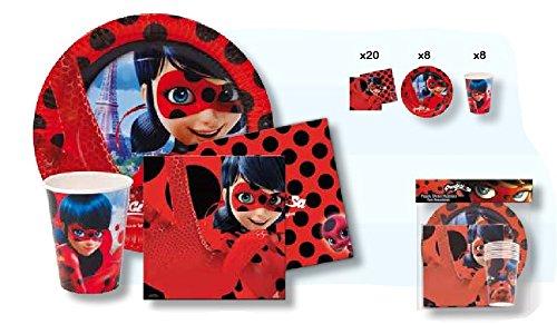 Ladybug Party-Set (Bug-spielzeug Für Jungen)