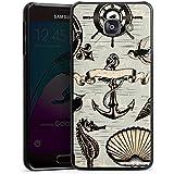 Samsung Galaxy A3 (2016) Housse Étui Protection Coque Ancre Marin Mer