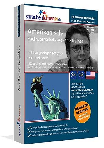 Amerikanisch-Fachwortschatz-Vokabeltrainer mit Langzeitgedächtnis-Lernmethode von Sprachenlernen24:...
