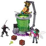 Mega Bloks - Cámara de mutación, Tortugas Ninja, Juego de...