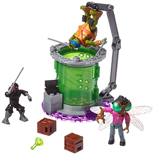 Mattel Mega Bloks DMX50 - Teenage Mutant Ninja Turtles (Mutant Teenage Mutant Turtles Ninja)