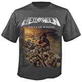 HELLOWEEN - Walls of Jericho - Grey - T-Shirt