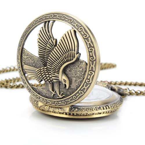 uniquebella-pocket-watch-quartz-men-women-children-vintage-alloy-chain-necklace-b5-b051-bronze-eagle
