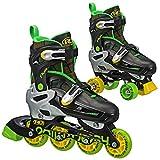 Roller Derby Flux Jungen Inline/Roller Combo Skate medium (3–6)