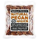 Gorilla Food Co. Natural Pecan Nut Halves - 400g