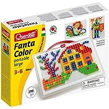 Quercetti - 13/0954 - Juego Fantacolor 300 piezas Quercetti 4 años