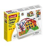 Quercetti 0954 - Mosaik-Steckspiel Fanta Color