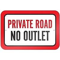 Private Road No Toma de 9x 6aluminio señal de Metal Signs Vintage señales de tráfico placas de lata Signs placa decorativa