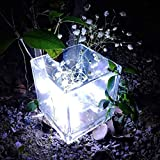 Weihnachten Lichterkette,FeiliandaJJ 5M 50pc Festival Dekorative Schnur LED Licht Hochzeit Party Halloween Xmas Innen/Außen Haus Deko String Lights 3xAA Batterie (Weiß)