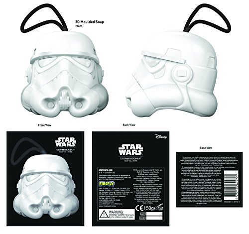 Star Wars Stormtrooper Soap on a Rope Set (150g)