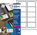 Best Bourrage papier couleur Lasers - Avery 250 Cartes de Visite à Bords Lisses Review