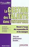 Telecharger Livres La gestion des talents dans l entreprise (PDF,EPUB,MOBI) gratuits en Francaise