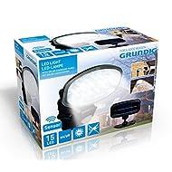 Grundig 91729 Lampe Solaire à LED Plastique Multicolore 13 x 8 x 15/17,5 x 1 cm