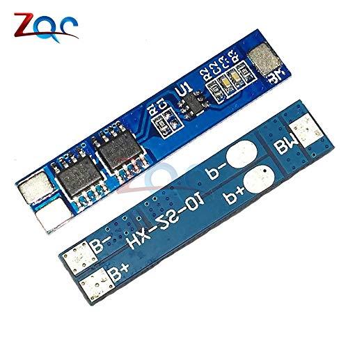 2PCS 2S 5A Li-Ion BatterieSchutz Board BMS PCM für Li-Ion Lipo Akku-Cell Pack 7.4 V 8,4 V 18650 BMS PCM 7.4 V Pack