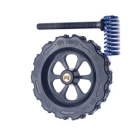 Nuss Frühling Nivellierung Kit Zum Erhitzen Bett 3D Drucker Teile Blau Komponente MK3 Aluminiumsubstrat Heißes Handschraube Große Senkkopf Schraubeneinstellung Flacher Equalizer ()