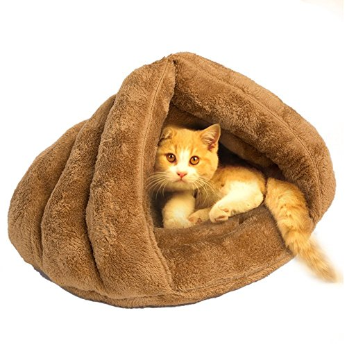 Pets Empire Bed Warm House Sleeping Bag For Puppy Cat Dog Rabbit Small Animals 1 Piece Color May Vary