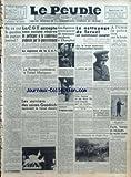 Telecharger Livres PEUPLE C G T LE No 6197 du 09 01 1938 OU EN EST LA QUESTION DU PAPIER JOURNAL PAR R BOUYER LA C G T ACCEPTE SANS AUCUNE RESERVE DE PARTICIPER A LA CONFERENCE PROPOSEE PAR LE GOUVERNEMENT LA REPONSE DE C G T LE BUREAU CONFEDERAL A L HOTEL MATIGNON LES OUVRIERS DES USINES GOODRICH REPRENNENT LE TRAVAIL DEMAIN LES JAPONAIS PROVOQUENT DE NOUVEAUX INCIDENTS A CHANGHAI RIPOSTES UNE IMPATIENCE LEGITIME LE NETTOYAGE DE TERUEL EST MAINTENANT COMPLET SUR LE FRONT EXTERIEUR LES (PDF,EPUB,MOBI) gratuits en Francaise