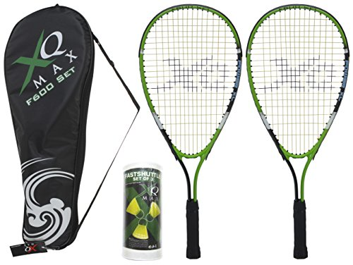 XQmax Erwachsene Speed Badminton G600 Black/Green/White, 58 cm